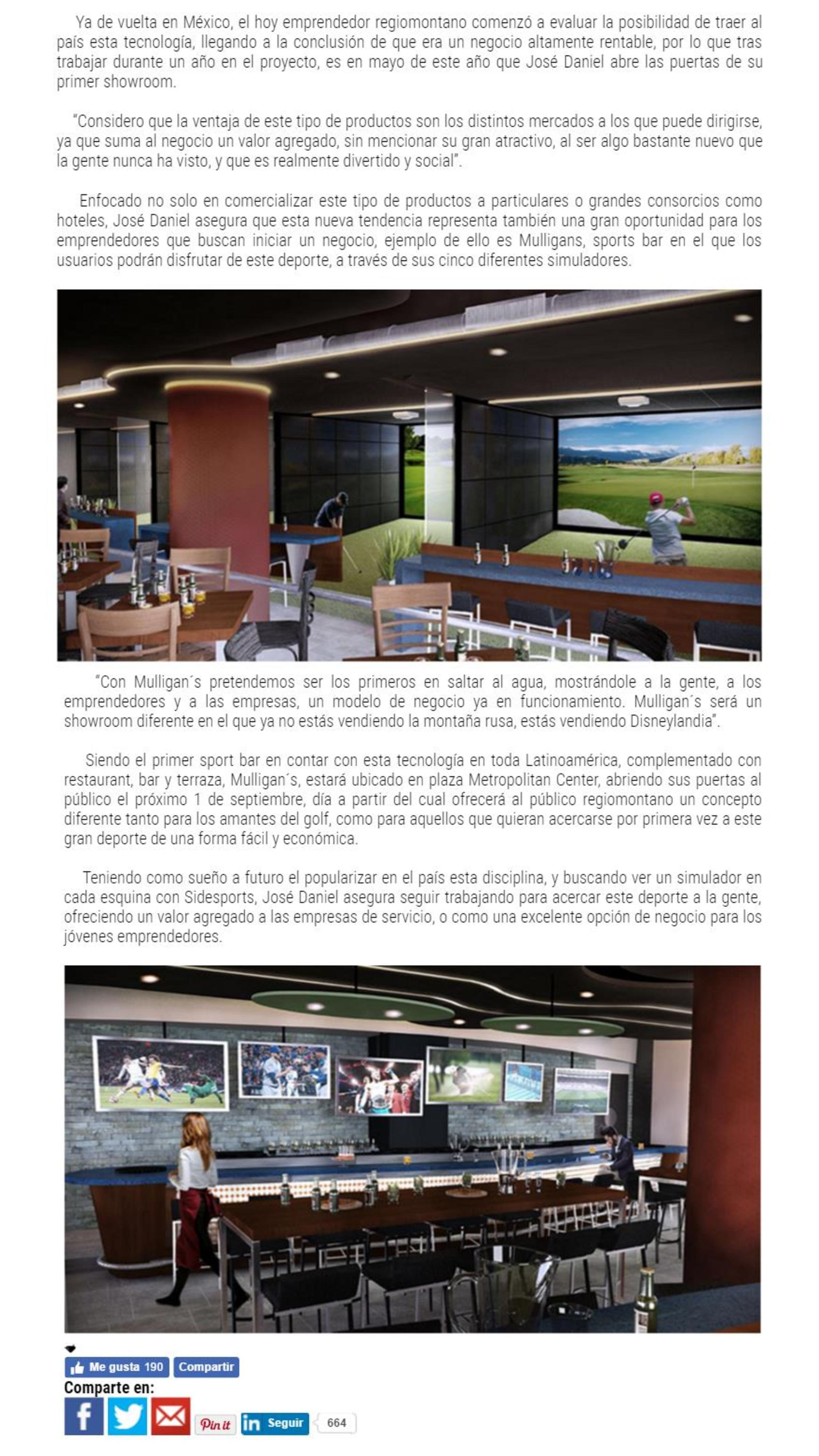 José Daniel Vargas  Promoviendo la pasión por el golf con Side ... 94c91920ec09d