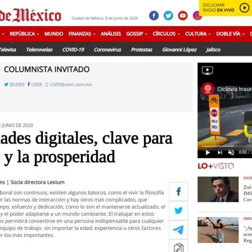 HABILIDADES DIGITALES, CLAVE PARA EL ÉXITO Y LA PROSPERIDAD- SOL DE MÉXICO (LEXIUM)
